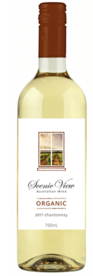 Scenic View Organic 2017 Chardonnay
