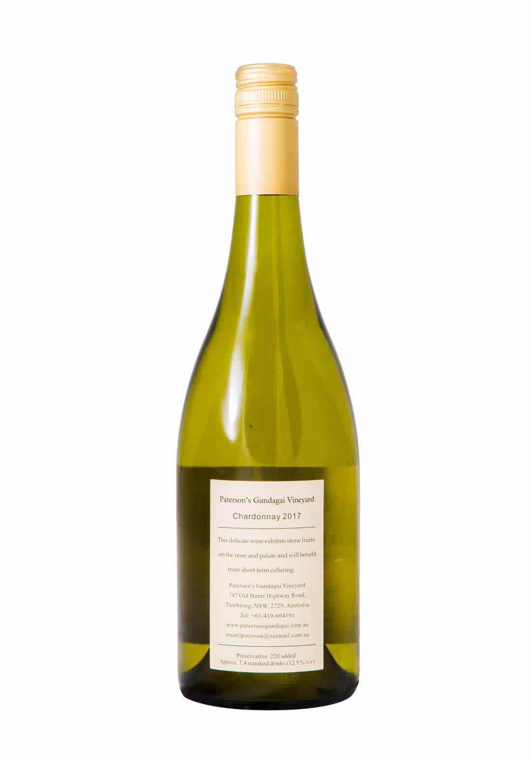 2017 Paterson's Gundagai Vineyard Chardonnay